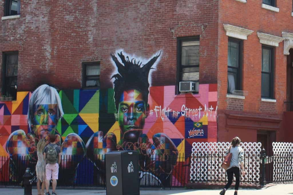 basquiat warhol murales williamsburg