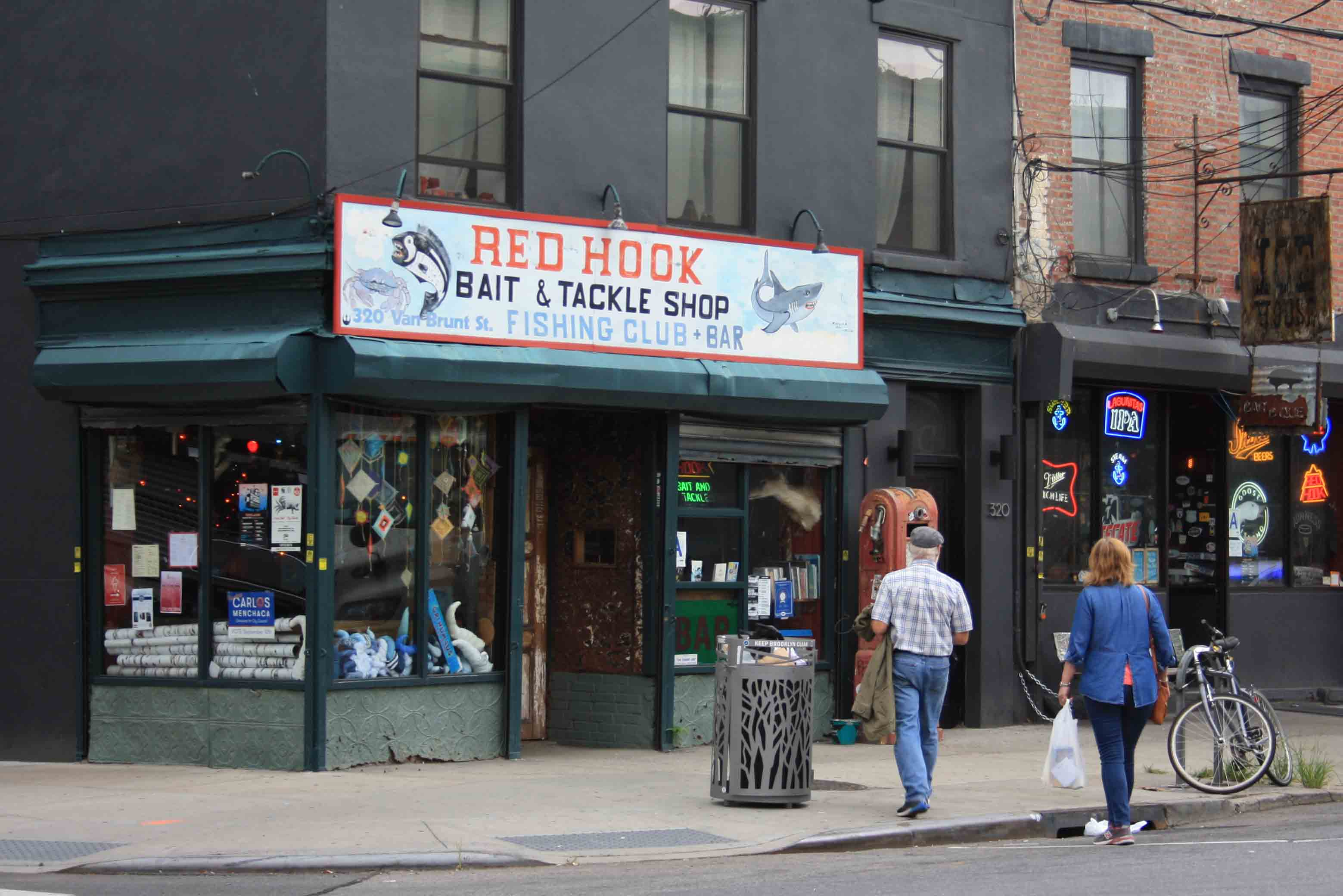 New york destate red hook don 39 t think just go for Fishing store nyc