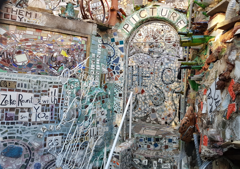 filadelfia magic gardens mosaici