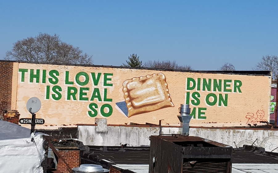 murales espo filadelfia this love is so real dinner is on me